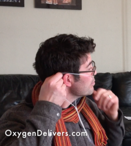 How To Put Your Oxygen Nasal Cannula On