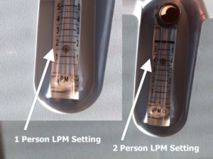 Liter Per Minute Oxygen Concentratror Flow Rates For 1 Or 2 People