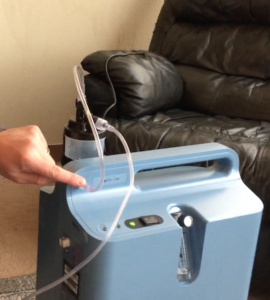 Using An Oxygen Concentrator With A Bubble Humidier Bottle